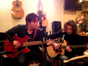 2013/01/23 Acoustic Live Cafe Anie Jam Session にて